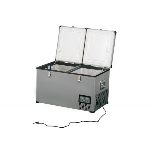 Frigider-congelator auto indelB Travel Box Steel 65 - 65litri, 12/24V