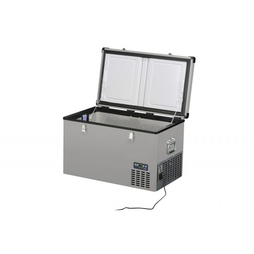 Frigider auto indelB Travel Box Steel 74 - 74litri, 12/24V