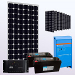 Kit fotovoltaic mono 2000W - Imaginea nu are caracter contractual