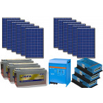 Kit solar off-grid 3kW cu invertor 220V