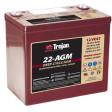 Baterii pentru kit fotovoltaic 12V 50Ah TROJAN 22 AGM