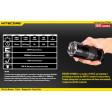 Lanterna profesionala cu led Nitecore TM06 - 334m / 3800lm