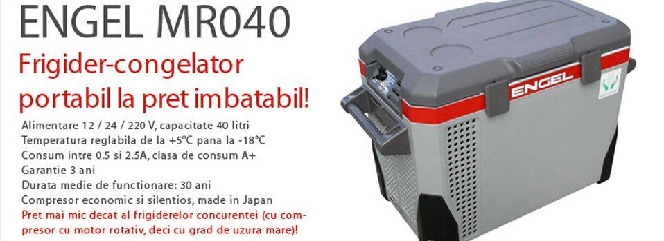 Frigider-congelator portabil ENGEL MR40