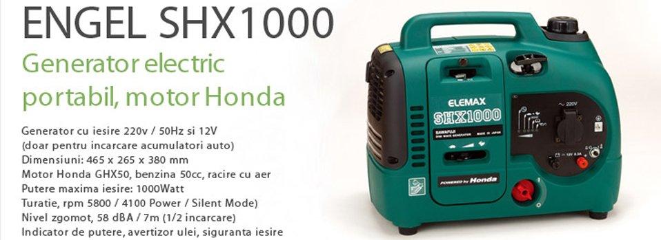 Generator electric portabil ENGEL SHX 1000